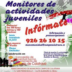 Monitor de Actividades Juveniles Homologado por la JCCM