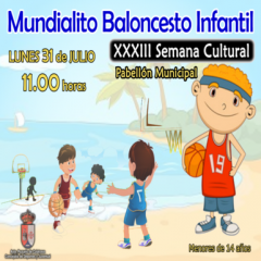 Mundialito Baloncesto Infantil