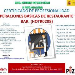 Curso FP Empleo: Restaurante y Bar