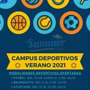 Campus Deportivos Verano 2021