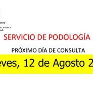 Servicio de Podología