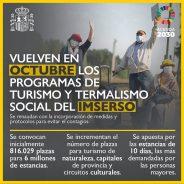 Turismo y Termalismo social del IMSERSO